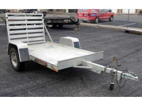 2012 Aluma Aluminum Utility Trailer With Drop Gate