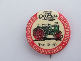 The Schnakenberg Farm Machinery Advertising Celluloid Pin-Back Button, Token & Stick-Pin Collection featured photo 2