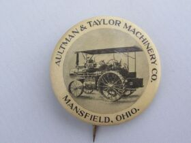 The Schnakenberg Farm Machinery Advertising Celluloid Pin-Back Button, Token & Stick-Pin Collection featured photo 3