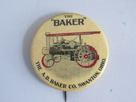 The Schnakenberg Farm Machinery Advertising Celluloid Pin-Back Button, Token & Stick-Pin Collection featured photo 6