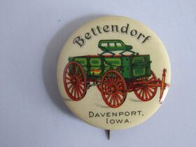 The Schnakenberg Farm Machinery Advertising Celluloid Pin-Back Button, Token & Stick-Pin Collection featured photo 9
