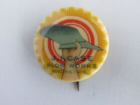 The Schnakenberg Farm Machinery Advertising Celluloid Pin-Back Button, Token & Stick-Pin Collection featured photo 10