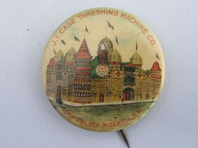 The Schnakenberg Farm Machinery Advertising Celluloid Pin-Back Button, Token & Stick-Pin Collection featured photo 12