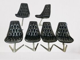 Chromecraft Sculpta chairs