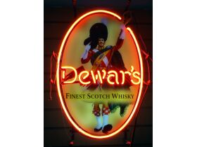 Dewar's Finest Scotch Whisky Neon Sign