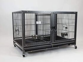 Lot #: 13, Homey Pet Metal Stackable Pet Cage
