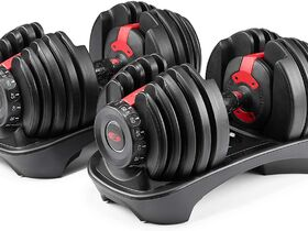 Lot #: 14, Bowflex SuperTech BD552 Dumbbells
