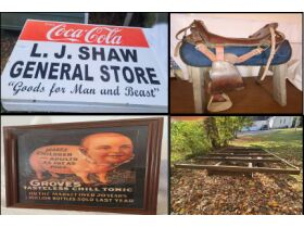 SHAW OLD COUNTRY STORE (2) ONLINE AUCTION ENDING 3/22/21 featured photo 1