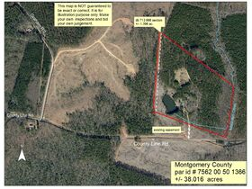 38+/- Acres w/ Cabin, Pond and Timber in Montgomery County, NC featured photo 5