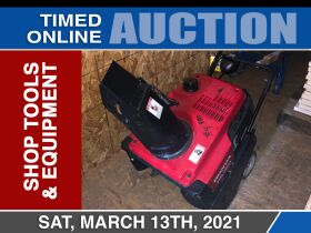 March Dodson Equipment Auction - Shop Tools and Equipment featured photo 1