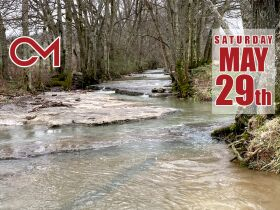 Beautiful 121+/- Acres Offered in Several Tracts - House, Outbuildings, Great Pasture, Scenic Views, Creek & Spring - Estate Auction May 29th featured photo 1