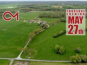 168+/- Acres Offered in Tracts - House, Barns, 4 Ponds - Soil Sites & Utilities Available - Auction May 27th featured photo 1