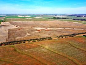 155 ACRES LOCATED SOUTH OF ARGONIA KS   126.2 AC TILLABLE   28.9 AC TAME GRASS   NO GROWING CROP featured photo 5