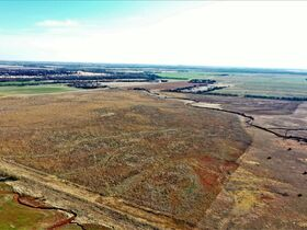 155 ACRES LOCATED SOUTH OF ARGONIA KS   126.2 AC TILLABLE   28.9 AC TAME GRASS   NO GROWING CROP featured photo 11