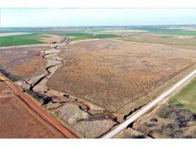 155 ACRES LOCATED SOUTH OF ARGONIA KS | 126.2 AC TILLABLE | 28.9 AC TAME GRASS | NO GROWING CROP featured photo 1