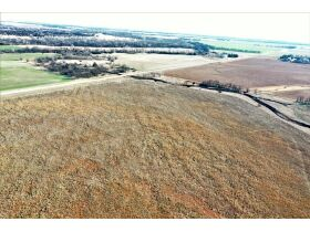155 ACRES LOCATED SOUTH OF ARGONIA KS | 126.2 AC TILLABLE | 28.9 AC TAME GRASS | NO GROWING CROP featured photo 3