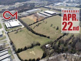 Prime 43+/- Acres Zoned Heavy Industrial For Sale in Dayton, TN - ONLINE ONLY AUCTION - BID NOW Until April 22nd! featured photo 1