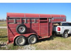 Valuable Coins, Farm Equipment, Stock Trailer, Horse Drawn Buggy & Cart And More! featured photo 4