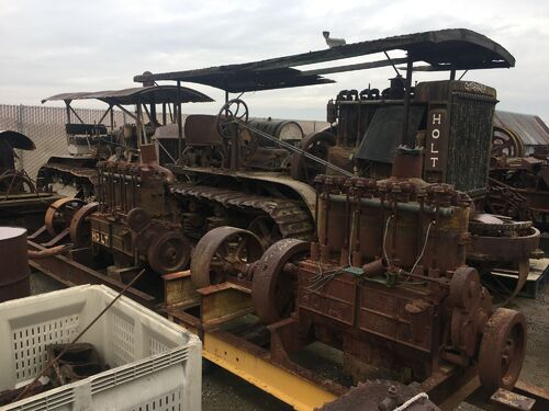 The Irvin Baker Tractor Collection featured photo