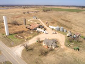 LIVING ESTATE AUCTION - PRISTINE PAYNE COUNTY, OK FARM PLUS LIFETIME  ACCUMILATION OF FARM-RANCH EQUIPMENT featured photo 1