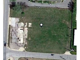 aerial photo of vacant land