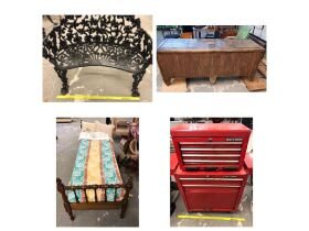 Furniture, Antiques, Home Furnishings, Glassware, Decor and More... at Absolute Online Auction featured photo 1