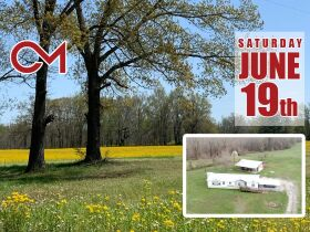 60+/- Acres Offered in Tracts - Range from 5+/- Acres to 12+/- Acres Each - Mobile Home & Barn featured photo 1