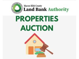 Macon-Bibb County Land Bank Authority Properties Auction featured photo 1