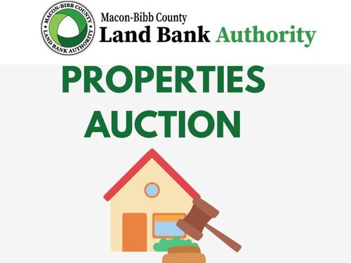 Macon-Bibb County Land Bank Authority Properties Auction featured photo