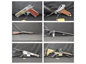 Worldwide Unique Military & Police Firearm Collection, Modern Guns & Ammo at Absolute Online Auction featured photo 1