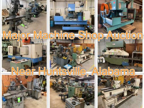 Machine Shop Auction - American Mechanical & Electronic Services, INC featured photo