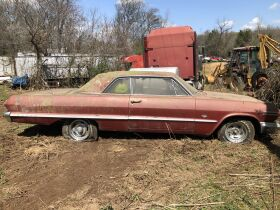 Estate Auction:  Tractors, Vintage Vehicles, Trailers, Tools & More featured photo 1
