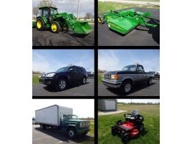 JD TRACTOR - ROTARY CUTTER - TOYOTA 4RUNNER - FORD F150 - BOX TRUCK - ZTR MOWER - GOLF CART - Online Bidding Ends MON, MAY 3 @ 4:00 PM EDT featured photo 1