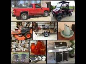 The Living Estate of Betty Yount. 2015 Chevy Silverado, Furniture, Glassware, Kawasaki Mule, Collectibles, Bad Boy Mower, Sun Bed, Home Decor more! featured photo 1