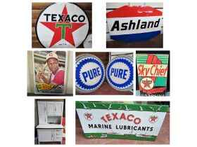 Mr. Gary Powell's Antiques ~ Petroliana ~ Graniteware ~ Baseball Cards & Personal Property - Absolute Online Only Auction featured photo 1