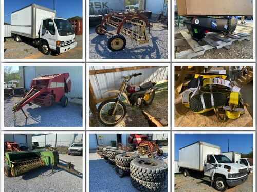 April Consignment - Vehicles, Equipment, Implements, Industrial Tools and More featured photo