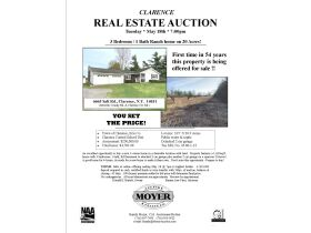 Clarence NY Real Estate Auction - Bartels Family Farm featured photo 11