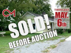 "AUCTION CANCELED - ONLINE AUCTION featuring ""Handyman Special"" 4 Room Home featured photo 1"
