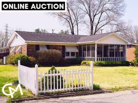 2 Bed, 2 Bath Home w/Pool Online Auction - Westside Evansville, IN featured photo 1
