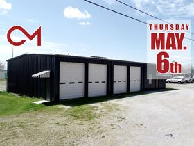 ONLINE AUCTION featuring 2880+/- Sq. Ft. Commercial Building with Large Shop Area - Multiple Possibilities featured photo 1