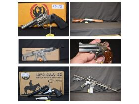 Pistols, Revolvers, Shotguns, Rifles, Antiques Guns, Black Powder, Ammunition and Accessories at Absolute Online Auction featured photo 1