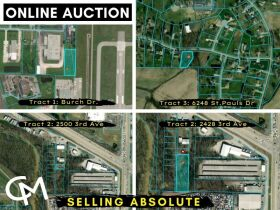 4 PARCELS OF VACANT LAND OFFERED IN 3 TRACTS - ABSOLUTE ONLINE AUCTION - EVANSVILLE, IN featured photo 1