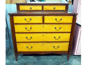 Basset Furniture Dresser With 5 Total Drawers And