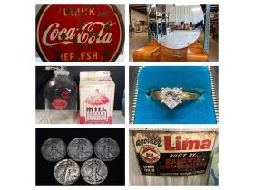 Coins, Jewelry, Furniture, Antiques, Collectibles and More... at Absolute Online Auction featured photo 1