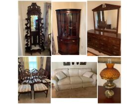 Furniture, Glassware, Home Furnishings, Tools and Personal Property at Absolute Online Auction featured photo 1