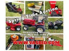 Downsizing Auction West Milton Ohio featured photo 1