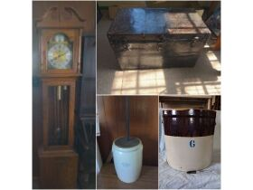 Furniture, Vintage Glassware, Prints & Personal Property at Absolute Online Auction featured photo 1