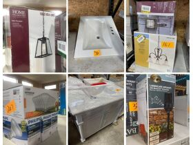 *ENDED* Home Depot Returns Auction - Beaver Falls, PA featured photo 1