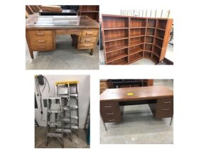 Office Furniture, Shelving, Glassware & Collectibles and Personal Property at Absolute Online Auction featured photo 1