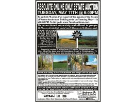 Absolute ONLINE Only Estate Auction - 40.75 Acres -  Philadelphia TN 37846 featured photo 7